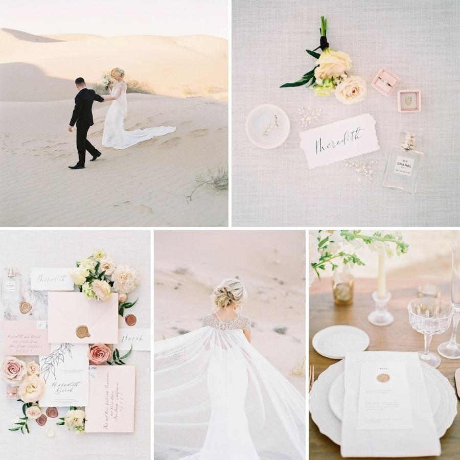 Heavenly Beach Wedding Ideas : Chic