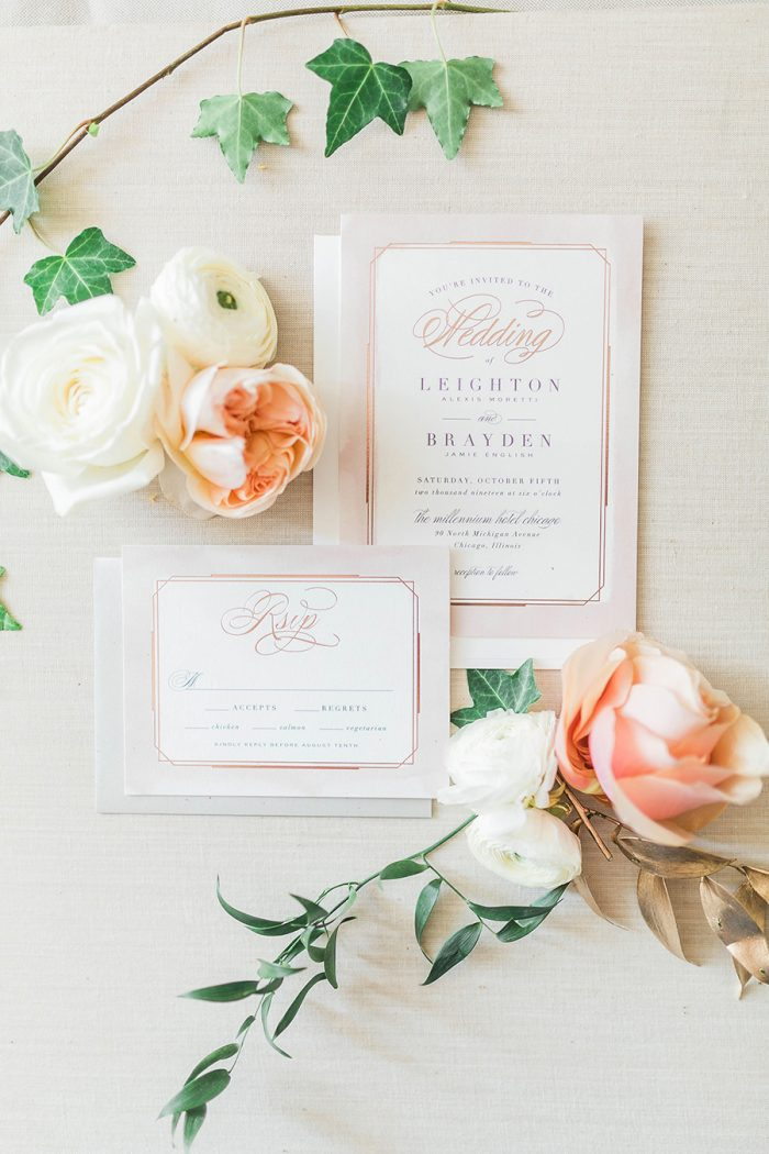 Spring Themed Wedding Invitations