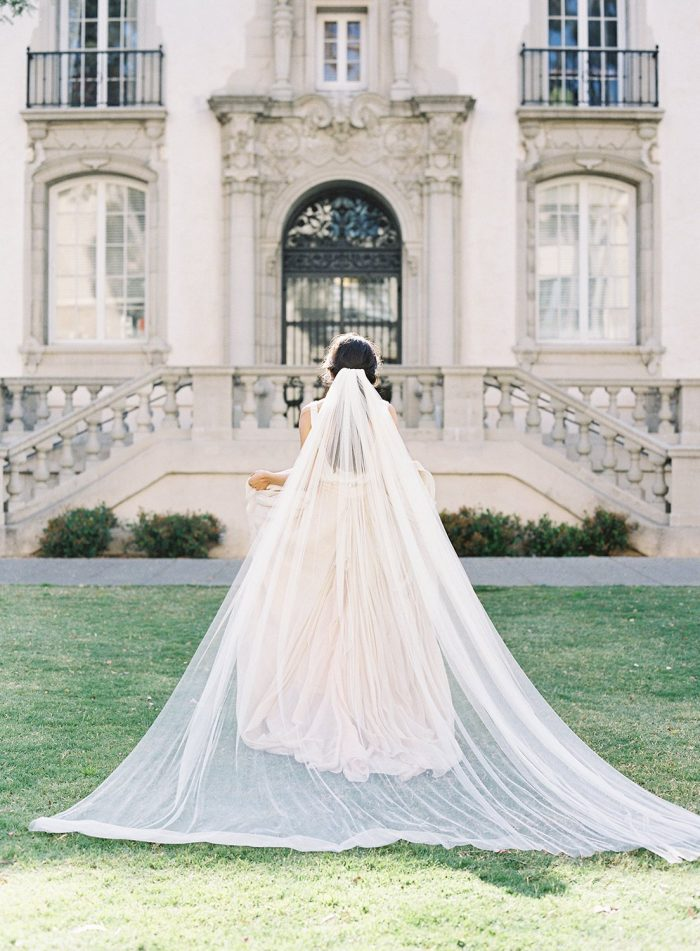 Simple Cathedral Length Veil