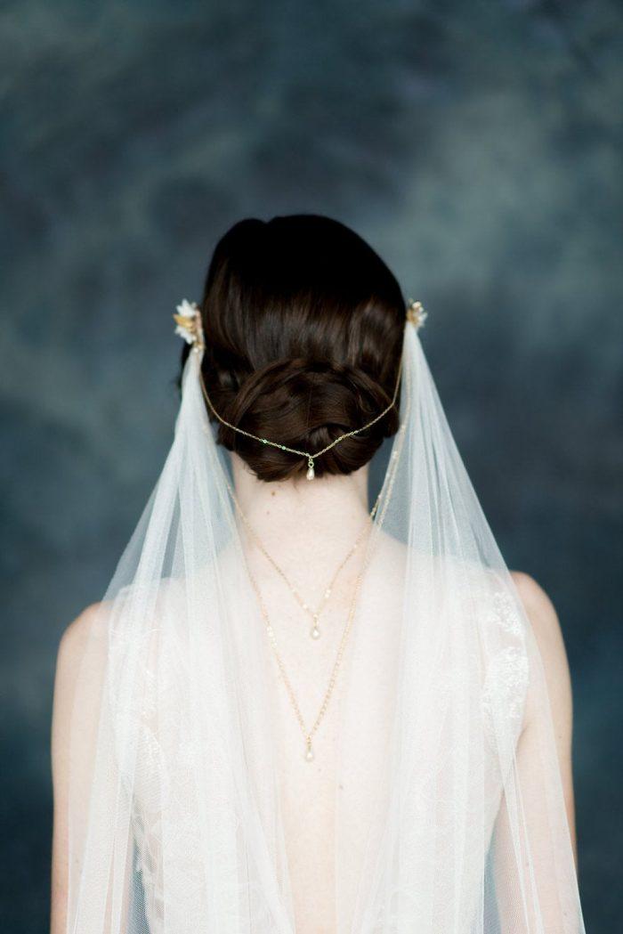 15 Wonderfully Alternative Veils Chic Vintage Brides Chic Vintage Brides