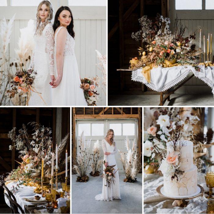 Renaissance Inspired Fall Wedding Inspiration